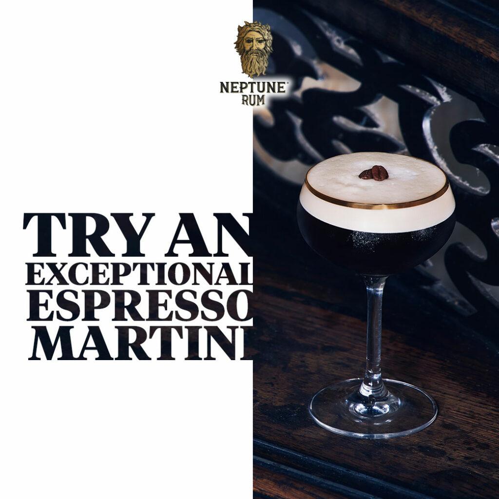 Neptune Espresso Martini